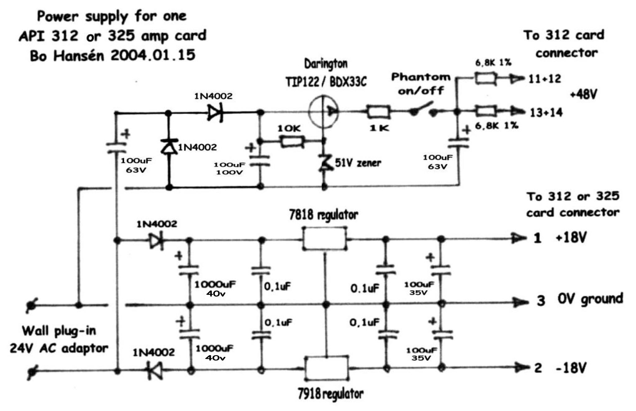 Hansn Audio Gothenburg Simple Mic Circuit Schematic Api Psu 192768 Byte